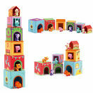 Djeco Stacking Cubes - Topanifarm additional 1