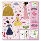Djeco Stickers & Paper Dolls - Dresses through the Seasons additional 1