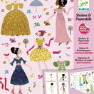 Djeco Stickers & Paper Dolls - Dresses through the Seasons additional 3