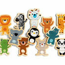 Djeco 'Coucou' Magnetic Animal Shapes Puzzle additional 1
