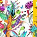 Djeco Colouring-in Poster - Butterfly Ball additional 1