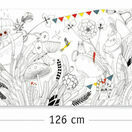 Djeco Colouring-in Poster - Butterfly Ball additional 2