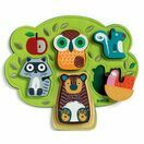 Djeco Oski Animals Wooden & Felt Relief Puzzle additional 2