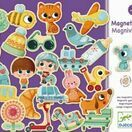 Djeco Magnetic Game - Magniville additional 1