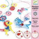 Djeco Magic Plastic Jewellery Kit - The Kitten & Pony additional 4