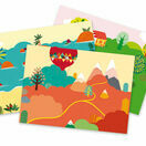 Djeco Transfer Pictures / Decals - Sea, Mountain & Countryside Holidays additional 2
