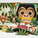 Mibo The Jungle Crew Book with 3D Papercut Animals additional 1