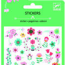 Djeco Mini Glitter Stickers - Little Flowers additional 1