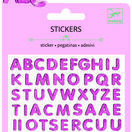 Djeco Mini Stickers - Glitter Letters additional 1