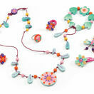 Djeco Wooden Jewellery Set - Flower Paradise additional 1