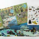 Laurence King Publishing Stickyscapes Panoramic Landscapes- 100 Tropical Stickers additional 3