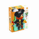 Djeco Pirate Magnetic Box Game - Aventura additional 4