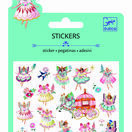 Djeco Mini Padded Stickers - Fairies additional 1