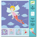 Djeco Stencil Kit - Fairies additional 1