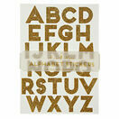 Meri Meri All Wrapped Up Gold Sparkly Alphabet Stickers additional 1