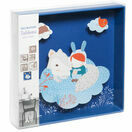 Djeco Box-Framed 3D Picture - White Fox additional 2