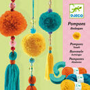 Djeco Pompon Making Kit - 3 Hanging Tassels additional 1