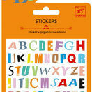 Djeco Mini Stickers - Coloured Letters additional 1