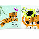 Wee Gallery Soft Cloth Baby Book - Tiger additional 1