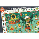 Djeco 200 Piece Observation Jigsaw Puzzle - Crazy Lab additional 1
