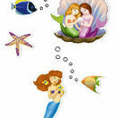 Djeco Stickers - Mermaids additional 3