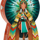 Djeco Silhouette 36 Piece Jigsaw Puzzle - Tatanka the Indian additional 1