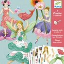 Djeco Colour-in Jumping Jacks - Fairies additional 1