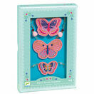 Djeco Embroidered Jewellery Set - Butterflies additional 2