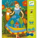 Djeco Drop Stitch Canvas Art Workshop - Dresses additional 1