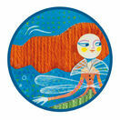 Djeco Drop Stitch Canvas Sewing Workshop - Mermaid additional 3