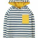 Campfire Hooded Top - Marine Blue Chunky Breton additional 1
