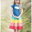 Dorothy Twirly Skirt - Rainbow Hotchpotch additional 2