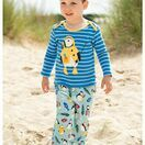 Bobby Applique Top - Sail Blue Puffin additional 3