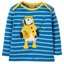 Bobby Applique Top - Sail Blue Puffin additional 1