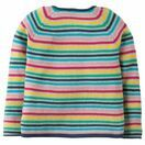 Milly Swing Cotton Cardigan - Rainbow Knit additional 3