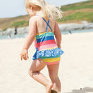 Little Coral Swimsuit - Rainbow Stripe additional 2