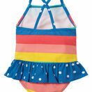 Little Coral Swimsuit - Rainbow Stripe additional 3