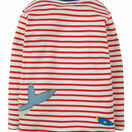 Joe Applique Top - Tomato Breton / Shark additional 2