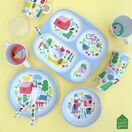 Countryside Melamine 4 Compartment Tray additional 2