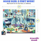 Crocodile Creek 72 Piece Puzzle Day at the Museum - Space additional 4