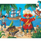 Djeco Silhouette Puzzle 36 Piece - The Pirate and his Treasure additional 2