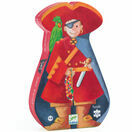 Djeco Silhouette Puzzle 36 Piece - The Pirate and his Treasure additional 1