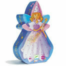 Djeco Silhouette Puzzle 36 Piece - The Fairy & Her Unicorn additional 1