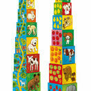 Djeco Stacking Cubes - My Animal Friends additional 1