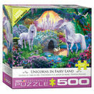 XXL Pieces - Unicorns in Fairy Land 500 Piece Puzzle additional 2
