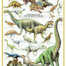 Dinosaurs of the Jurassic Period 1000 Piece Puzzle additional 1