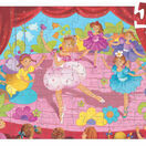 Djeco 36 Piece Silhouette Puzzle - Ballerina with a Flower additional 2