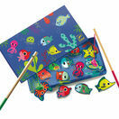 Djeco Magnetic Game - Colourful Fishing additional 1