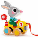 Djeco Pull Along Toy - Roulapic Rabbit additional 1