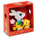 Djeco Pull Along Toy - Roulapic Rabbit additional 2